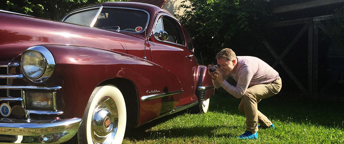 Classic Data Berlin Linkowitz - Inaugenscheinnahme Cadillac